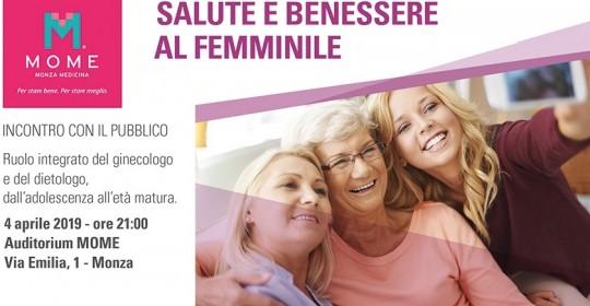 SALUTE E BENESSERE AL FEMMINILE