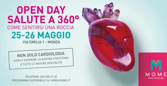 Open Day 25-26 Maggio